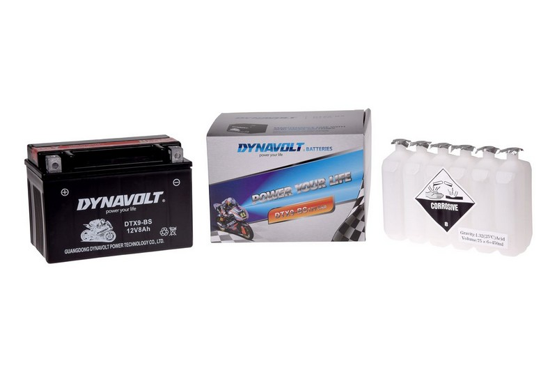 Akumulators DYNAVOLT 12V 8 Ah 152x88x106mm DBDTX9BS