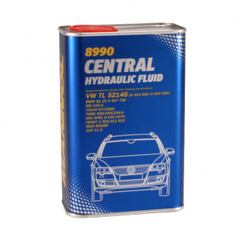 Масло MANNOL 8990 CHF Central Hydraulic Fluid 1L