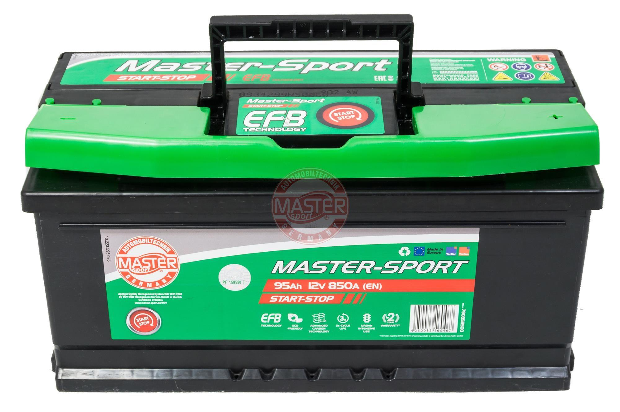 Akumulators MASTER-SPORT 790958500 Start-Stop 95Ah 850A